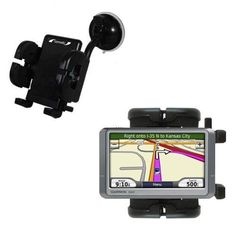 Garmin Nuvi 260W 260 compatible Windshield Mount for the Car  Auto  Flexible Suction Cup Cradle Holder for the Vehicle >>> Want additional info? Click on the image. #15likes