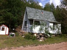Howard Smith's cabin on Main Street in Bonanza Colorado. Now owned by his son Tony Smith. Photo taken by Susan Avis