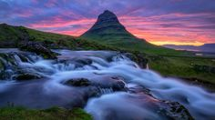 Magical Kirkjufell Iceland - sunset on one of Icelands most photogenic mountains  photo by Gen Vagula x-post rsland