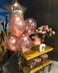 24th Birthday, Happy Birthday, Birthday Parties, Gold Party Decorations, Its My Bday, Bubbles, Projects To Try, Nara, Rose