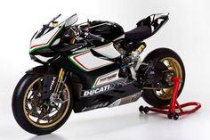 Ducati 1199 factory race bike