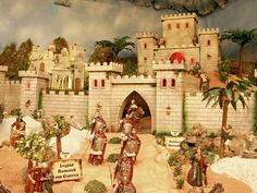 Visite o Palácio de Herodes no Maior Presépio do Mundo em movimento.  Entrada livre! Todos os dias até 19 de Março.