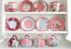 Чашки из ткани