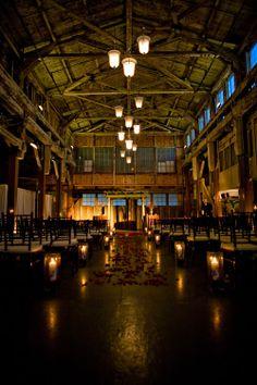 Wedding Venue, SoDo Park, Seattle. Sooo I feel like this is the same place I went trapezing random