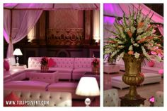 Creative and unique Pakistani wedding decoration ideas.  For more: www.tulipsevent.com