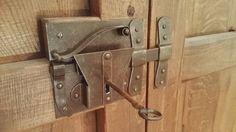 falegnameria bensi... serratura ferro tipo antica