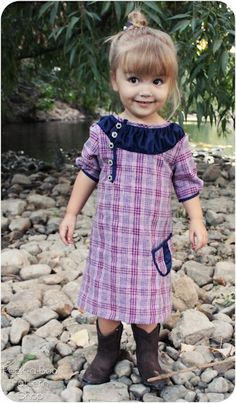 Download FREE Brooklyn Frock: 3 mos. - 8 years Sewing Pattern | FREE PATTERN CLUB | YouCanMakeThis.com