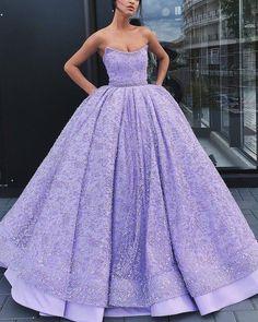 Purple Master Bedroom, Strapless Dress Formal, Formal Dresses, Purple Dress, Ball Gowns, Dress Up, Fashion, Dresses For Formal, Ballroom Gowns