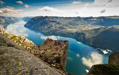 Preikestolen, Norge