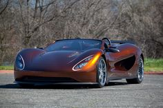 Scorpion Hydrogen Supercar
