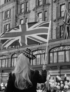 #Harrods #DiamondJubilee Union Jack