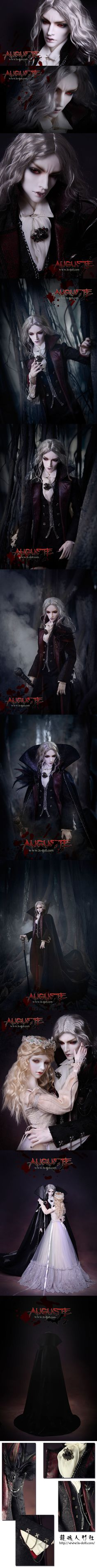 BJD Auguste( Vampire version) Boy 80cm 50 Limited Ball-jointed doll_80cm doll_LOONG SOUL_DOLL_Ball Jointed Dolls (BJD) company-Legenddoll