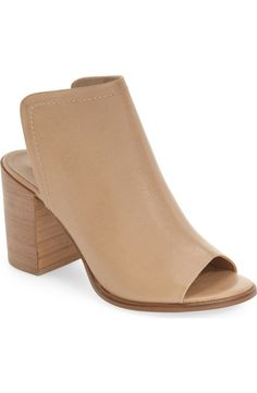 These neutral, open-toed booties from Steve Madden are perfect for everyday wear!