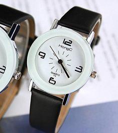 YAZOLE Wristwatch Unique Leather Watchband Women Quartz Watch