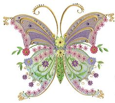Fantasy Butterfly Crystal Kit. Finish off Hatched In Africa's Fantasy Butterfly with Swarovski Crystals. Design available from www.hatchedinafrica.com. Crystal kit to embellish available exclusively through www.crystaleyecandy.com