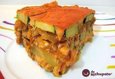Un clásico en el blog, ahora reeditado y mejorado: Lasaña casera de calabacín http://www.recetasderechupete.com/receta-de-lasana-de-calabacin/773/ #derechupete