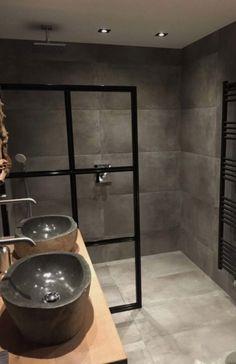 The Best 2019 Interior Design Trends - Interior Design Ideas Bathroom Inspo, Bathroom Inspiration, Interior Inspiration, Bathroom Renos, Bathroom Interior, Master Bathroom, Shower Screen, Beautiful Bathrooms, Living Room Designs