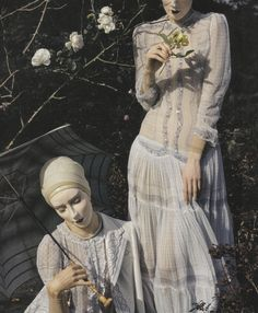"lavandula:  "" shot by tim walker for vogue italia  """