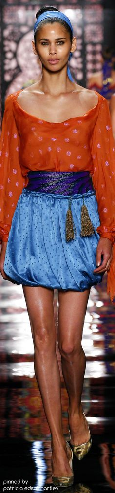 Reem Acra Spring 2016 Indian Fashion