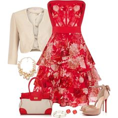 A fashion look from July 2013 featuring Karen Millen dresses, Jacques Vert jackets and Christian Louboutin pumps. Browse and shop related looks.