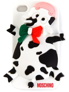 MOSCHINO - cow detail iPhone 4/ 4 S cover 4