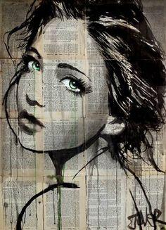"Saatchi Art Artist LOUI JOVER; Drawing, ""green pools"" #art"