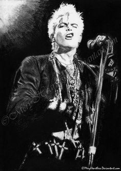 Billy Idol by ~MeryHeartless on deviantART