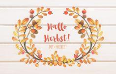 Blog - Céline Claire Designs #blog #blogpost #hellofall #freebie #freeprintable #diy #diyblog Celine, Grafik Design, Blog, Diy, Wreaths, Home Decor, Hello Autumn, Vibrant Colors, Seasons Of The Year