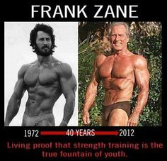 Strength Training is the True Fountain of Youth! #GymLife #FitForLife #FrankZane
