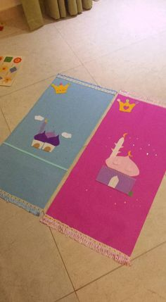 Praying mats - سجادات صلاة - جوخ - felt Muslim Prayer Mat, Prayer Rug, Ramadan Activities, Preschool Activities, Diy Eid Decorations, Islamic Celebrations, Mothers Day Decor, Ramadan Gifts, Islam For Kids