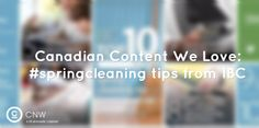 We loved IBC's #springcleaning tips! (Apr 8/15)