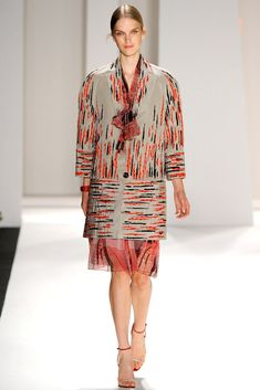 Carolina Herrera Spring 2012 Ready-to-Wear Fashion Show - Mirte Maas