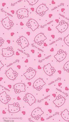Hello Kitty Wallpaper For iPhone wallpaper. Sanrio Wallpaper, Pink Wallpaper Iphone, Cat Wallpaper, Kawaii Wallpaper, Aesthetic Iphone Wallpaper, Pattern Wallpaper, Trendy Wallpaper, Wallpaper Wallpapers, Wallpaper Ideas