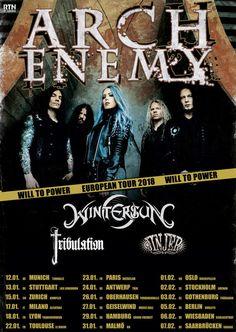 """Wintersun - kuva: Pasi Eriksson Wintersun julkaisi lyriikkavideon """"Eternal Darkness (Autumn)"""" -kappaleestaan, joka on yhtyeen heinäkuussa julkaisemalla """"The Forest Season"""" -albumilla. Elokuun ja syyskuun aikana Wintersun esiintyy Suomessa useilla paikkakunnillauuden albuminsa tiimoilta ja lämmittelee ensi vuoden alussaArch Enemyn Euroopan kiertuetta yhdessä Tribulationin ja Jinjerin kanssa. Kiertue käynnistyy tammikuun 12. päivä Münchenista ja päätyy helmikuussa Saarbrüc..."""