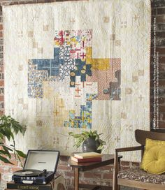 Grand Total by Pat Bravo for APQ in April 2016 issue American Patchwork & Quilting