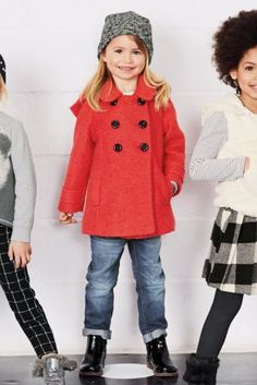 Buy Blue Bow Coat (3mths-6yrs) from the Next UK online shop | Erin ...