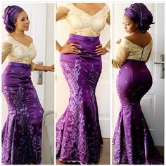 Top 10 Beautiful Aso Ebi Dress Styles You Love To Rock  Dabonke