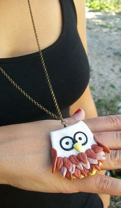 owl necklace | Flickr - Photo Sharing!https://www.facebook.com/giamais https://www.facebook.com/giamais