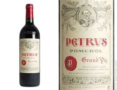 petrus wine labels - Google Search