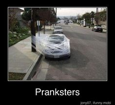 Lol awesome! Oh how i want to start a prank war w/ my brother...but i dont think i wanna go there w/ him lolol