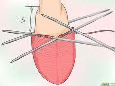 Aprende a tejer calcetines vía es.wikihow.com