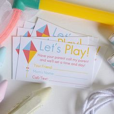 Ok where have these been all my life?! This is going to make it easier to set up play dates when school starts!