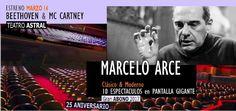 Marcelo Arce #25Temporadas   El próximo 14 de marzo en el Teatro Astral se realizará la primer función de CLASICO & MODERNO 2017 el ciclo que cumple nada más ni nada menos que veinticinco años de existencia siempre conducido por MARCELO ARCE una de las figuras imprescindibles de la divulgación musical en la Argentina con cuarenta años de trayectoria y la intacta pasión por difundir y compartir la música. Mezcla de animador dinámico y apasionado con erudito verdadero transmisor de ese amor…