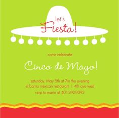 Ole!+Whether+it's+for+Cinco+de+Mayo+or+just+because,+send+out+hot+and+spicy+cinco-de-mayofiesta+invitations+from+PurpleTrail.+Margaritas,+fajitas+and+Mariachi+music+are+sure+to+fire+up+your+guests+and+keep+the+party+going+all+night+long