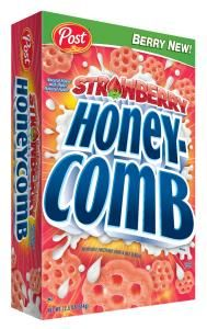 Limited Edition Strawberry Honeycomb has the great taste of strawberries, brings sweet, fruity fun back to the cereal bowl!