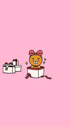 Cartoon Wallpaper, Kawaii Wallpaper, Phone Screen Wallpaper, Home Wallpaper, Happy Birthday Wishes Cards, Kakao Friends, Line Friends, Pop Art, Drawings