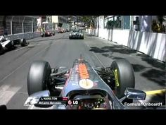 Onboard footage (the best of) Monaco F1 2011 race. These Formula 1 drivers have some big cohonas ;)
