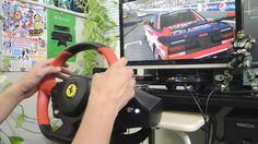[15] Xbox One Forza 6  Thrustmaster Ferrari 458 Spider Racing Wheel Game...
