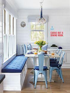 ciao! newport beach: fun and bright beach house decor