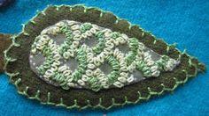 Sue Spargo leaf blocks